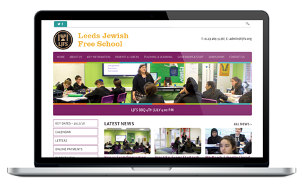 Leeds Jewish Free School website